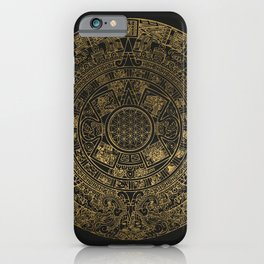 The Mayan Realization iPhone Case