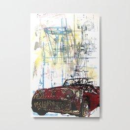 TR3 Metal Print