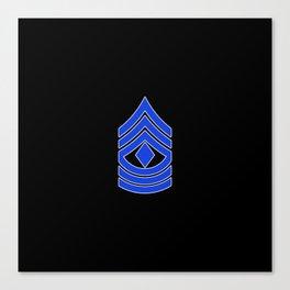 1st Sergeant (Police) Canvas Print
