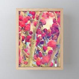 Pepper berries Framed Mini Art Print