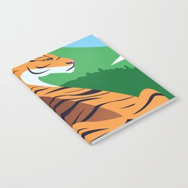 Tropical tiger Notebook