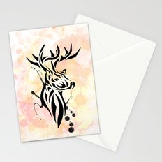 Stag Tribal  Stationery Cards