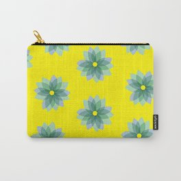 Geo Spring Flowers 02 Carry-All Pouch