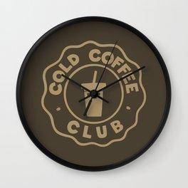 COLD COFFEE CLUB Wall Clock