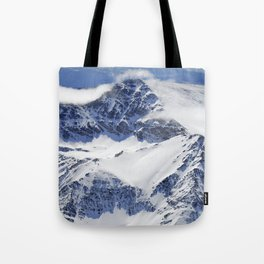 """Big mountains"". Aerial photography Tote Bag"
