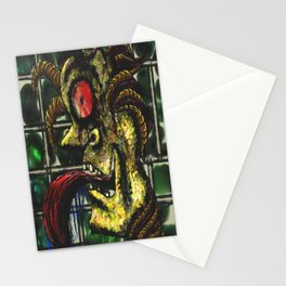 Paranoid Figure of War Stationery Cards
