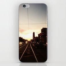 San Francisco Muni Njudah Sunset Silhouette  iPhone & iPod Skin