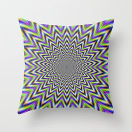 Starry Pulse Throw Pillow