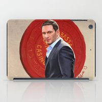 inception iPad Cases featuring Inception - Mr Eames by Mel Hampson