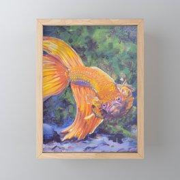 Vanessa's Betta Framed Mini Art Print