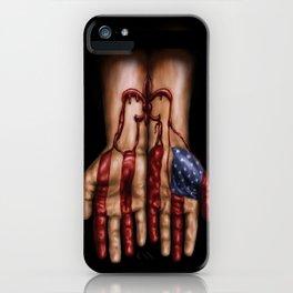 Blood of Hurricane Katrina iPhone Case