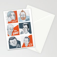 The Faces of New Fathers Stationery Cards