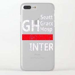 Grey's anatomy - SGH Intern Clear iPhone Case