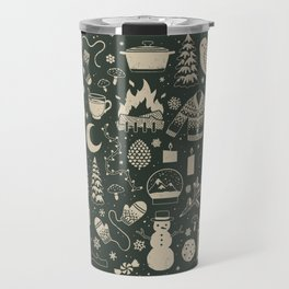 Winter Nights: Forest Travel Mug