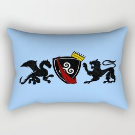 Pendragon Crest Rectangular Pillow