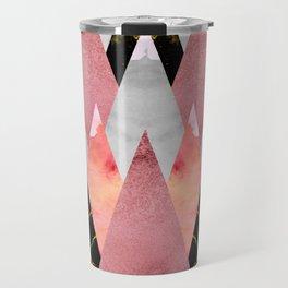 Textures Arsenal - Geometry Pink Travel Mug