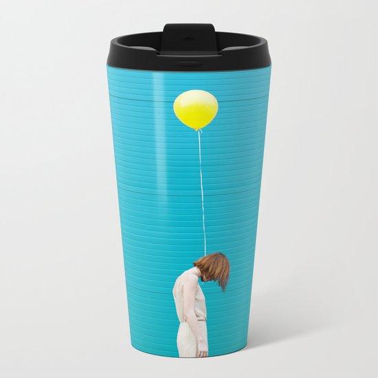 Balloon girl Metal Travel Mug