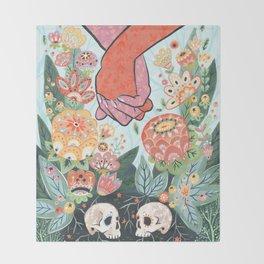 Till Death Do Us Part Throw Blanket