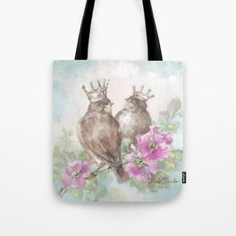 French Crown Songbirds II Tote Bag