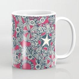 cirque fleur rose Coffee Mug