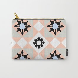 Portuguese tiles pattern vector Carry-All Pouch