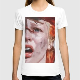 Leeloo Played By Milla Jovovich - The Fifth Element T-shirt