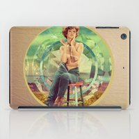 cigarette iPad Cases featuring Cigarette Break by Ryan Haran