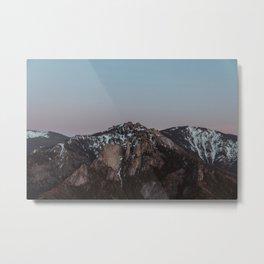 That Alpine Glow Metal Print