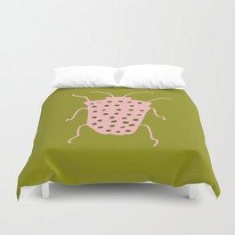 arthropod green I Duvet Cover