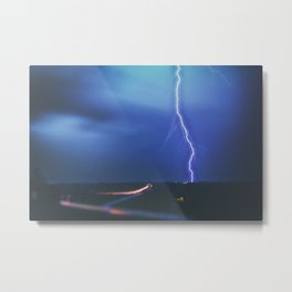 CG TO EAST Metal Print