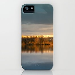 Nature lake 88471 Laupheim - Germany iPhone Case