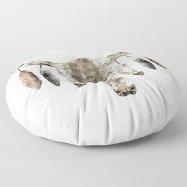 Cow Skull Floor Pillow