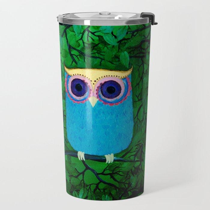 Two Owls Travel Mug
