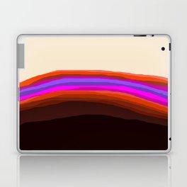 Orange, Purple, and Cream Abstract Laptop & iPad Skin