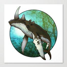 Whale Oil Canvas Print