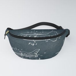 Space separated ship Fanny Pack