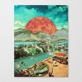 The aquarium pool Canvas Print