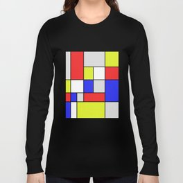 Mondrian #25 Long Sleeve T-shirt