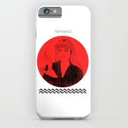 Laura Palmer MEANWHILE Twin Peaks iPhone Case
