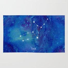 Constellation Virgo Rug