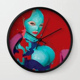 tea lilly Wall Clock