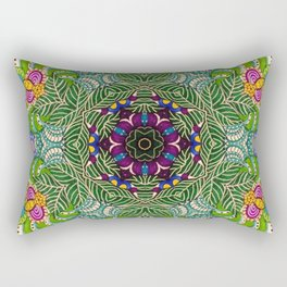 Flower Bliss Rectangular Pillow