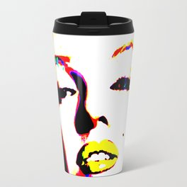 Pop Art of Actress M. Monroe - © Doc Braham; All Rights Reserved Travel Mug