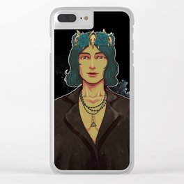Obscure Angel Clear iPhone Case