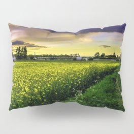 Rapeseed Sunset Pillow Sham