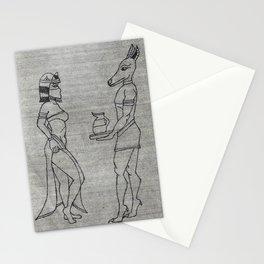 Egyptian Beauty 1 Stationery Cards