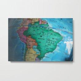 South America Metal Print