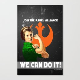 Join the Rebellion Canvas Print