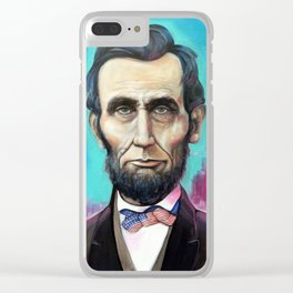 lincoln Clear iPhone Case