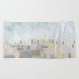 CityScape Beach Towel